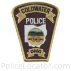 Coldwater Police Department Patch