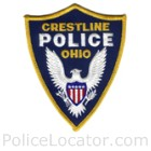 Crestline Police Department Patch