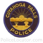 Cuyahoga Falls Police Department Patch