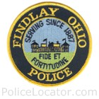 Findlay Police Department Patch