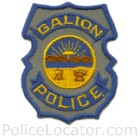 Galion Police Department Patch