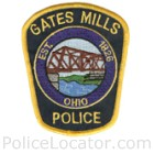 Gates Mills Police Department Patch