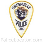Greenville Police Department Patch