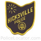 Hicksville Police Department Patch