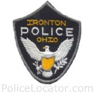 Ironton Police Department Patch
