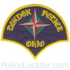 London Police Department Patch