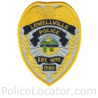 Lowellville Police Department Patch