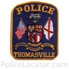 Thomasville Police Department Patch