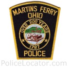 Martins Ferry Police Department Patch