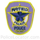 Mayfield Village Police Department Patch
