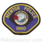 Mentor Police Department Patch