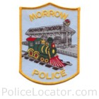 Morrow Police Department Patch