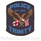 Trinity Police Department Patch