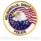 Nelsonville Police Department Patch