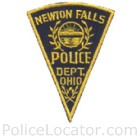 Newton Falls Police Department Patch