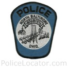 North Baltimore Police Department Patch