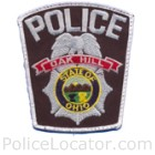 Oak Hill Police Department Patch