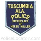 Tuscumbia Police Department Patch