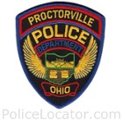 Proctorville Police Department Patch
