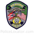 Reading Police Department Patch