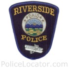 Riverside Police Department Patch