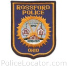 Rossford Police Department Patch
