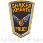 Shaker Heights Police Department Patch