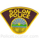 Solon Police Department Patch