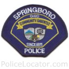 Springboro Police Department Patch