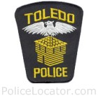 Toledo Police Department Patch