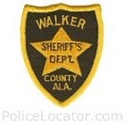Walker County Sheriff's Department Patch