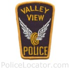Valley View Police Department Patch