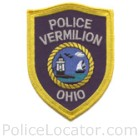 Vermilion Police Department Patch