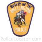 Wellington Police Department Patch