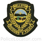 Wellston Police Department Patch