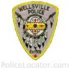 Wellsville Police Department Patch