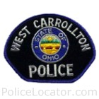 West Carrollton Police Department Patch