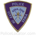 Xenia Police Department Patch