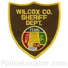 Wilcox County Sheriff's Department Patch