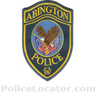 Abington Township Police Department Patch