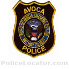 Avoca Police Department Patch