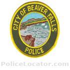 Beaver Falls Police Department Patch