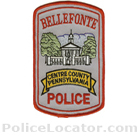 Bellefonte Police Department Patch