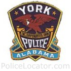 York Police Department Patch