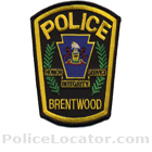 Brentwood Police Department Patch