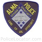 Alma Police Department Patch