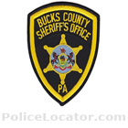 Bucks County Sheriff's Office Patch