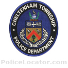 Cheltenham Township Police Department Patch