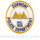 Dormont Borough Police Department Patch