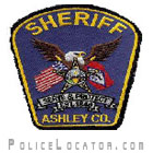 Ashley County Sheriff's Department Patch